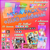 MEGA PACK +100 WATCHES!~~ by CAMI-CURLES-EDITIONS