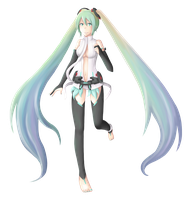 Miku Append by lolitaii