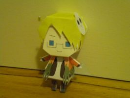 Halloween America Paper craft by Hamazakiakimi