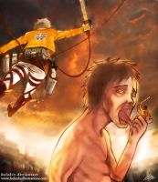 Attack on Titan by helakiv