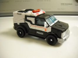 Transformers prime ratchet custom Prowl vehicle by Prowlcop
