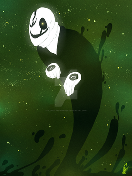 UNDERTALE - The man, who speaks with hands - by BloodyArchimedes