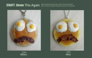 craft this again: pancake face by FatalPotato