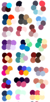 Random Color Palettes 7 by Sebbins