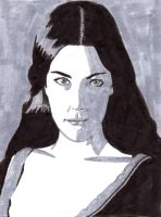 Arwen Black, Gray, And White by Rose--Wolf