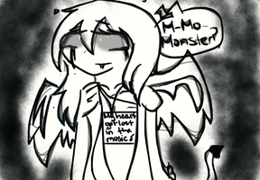 Monster...? by SoftenedSongs
