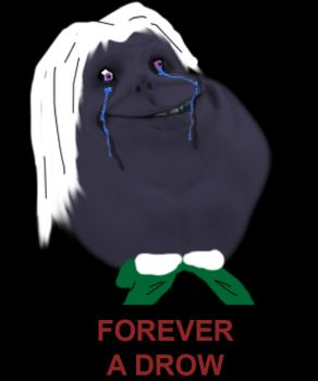 Forever a Drow by vrego