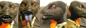 Gila Monster head by ArtSlavefursuits