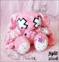 Baby Doll Bunny by SplitxMindxPlush
