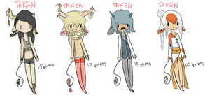 Mauen Adopts 1 : CLOSED by starry-eyed-euon