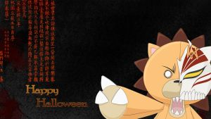 Halloween with Kon by Sainoka