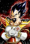 Saiyan Portraits: King Vegeta by BK-81