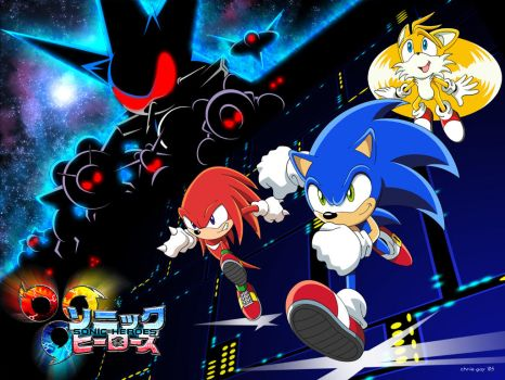 Sonic Heroes Wallpaper 4U by CaptRicoSakara
