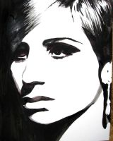Barbra Streisand by mixtapegoddess