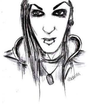 Chris Motionless by e-l-see