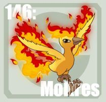 146 Moltres by Pokedex