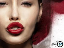 The Red Lip by Rageport