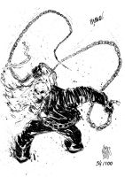 Sketchbook Sketch 2013: Ghost Rider! by alessandromicelli