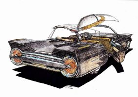 0944 - 29-07 - Old Concept Car by TwistedMethodDan