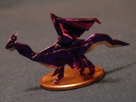 Tiny Origami Dragon by flufdrax