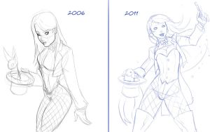 Compare and Contrast - Zatanna by LexiKimble