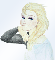 Elsa by daChaosKitty