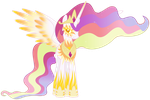 Celestia's Nightmare Night Costume by PotatoesArePeopleToo