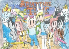 Adventure Time with Two Dimension Adventures!! by FelixToonimeFanX360