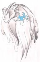 Dragon sketch by terminatress