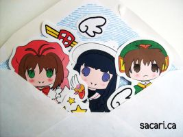 CCS Chibi Sticker Set by Sacari