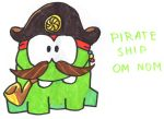 Pirate Ship Om Nom by YouCanDrawIt