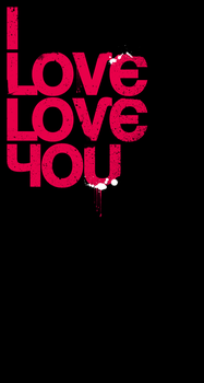 I Love Love You by aanoi
