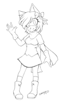 FREE TO USE :: Amy Rose Lineart by ShadowSinty