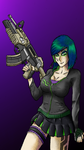 Saints row girl by stevoE26