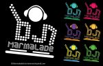 Logo for DJ Marmalade by Sketch0phobia