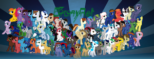 Bronies of Bronynet V5 by Spectty