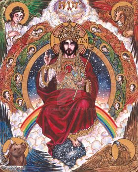 Christ the King by Theophilia