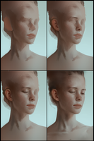 Portrait practice 11 process by AaronGriffinArt