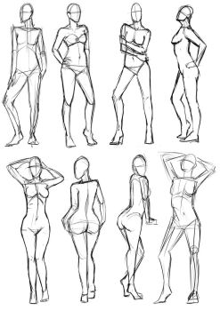Female Pose study 2 by SajoPhoe