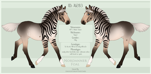 A1283 Foal Design by SWC-arpg