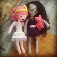 Bubb 3 and Marceline 2 by michelle-murder