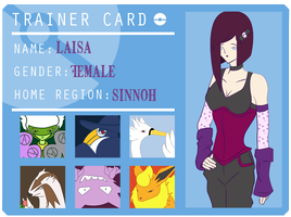 Laisa Coordinator Card by The-Last-Silver-Moon