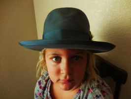 EVA WITH STETSON by pattywootton