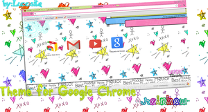 Theme for Google Chrome ''Rainbow'' By:Lucesita~ by LucesitaEditions