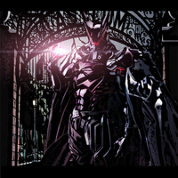 Devil Batman Back At Arkham by DragonSon92