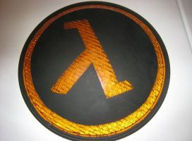 Half Life Lambda Traffic Light by paintmeaperfectworld
