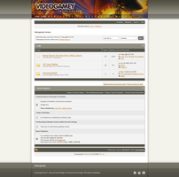 Videogamey.com Forum Skin by MetalFrog