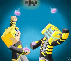 GoldSolace and GhostGaming by IshmanAllenLitchmore