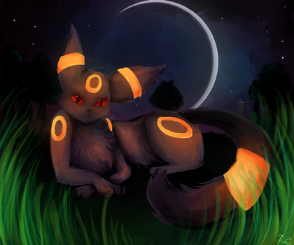 Umbreon by Kalinel