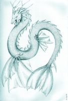 Sea serpent by creature-love